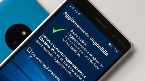 A dispetto delle aspettative, gli aggiornamenti per Windows 10 edizione smartphone stanno arrivando. Con buona soddisfazione degli utenti.